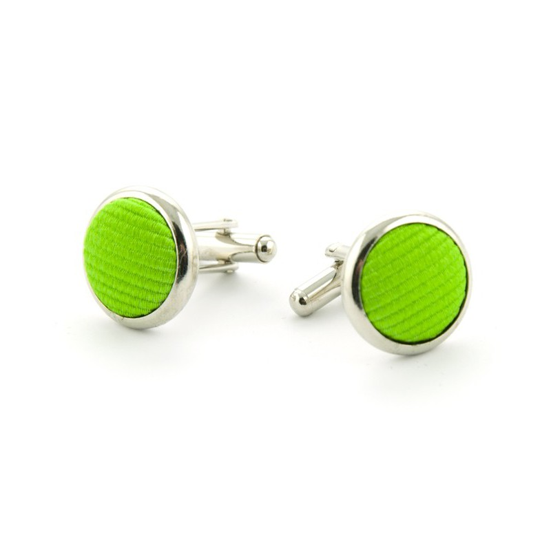 Manchetknopen Groen