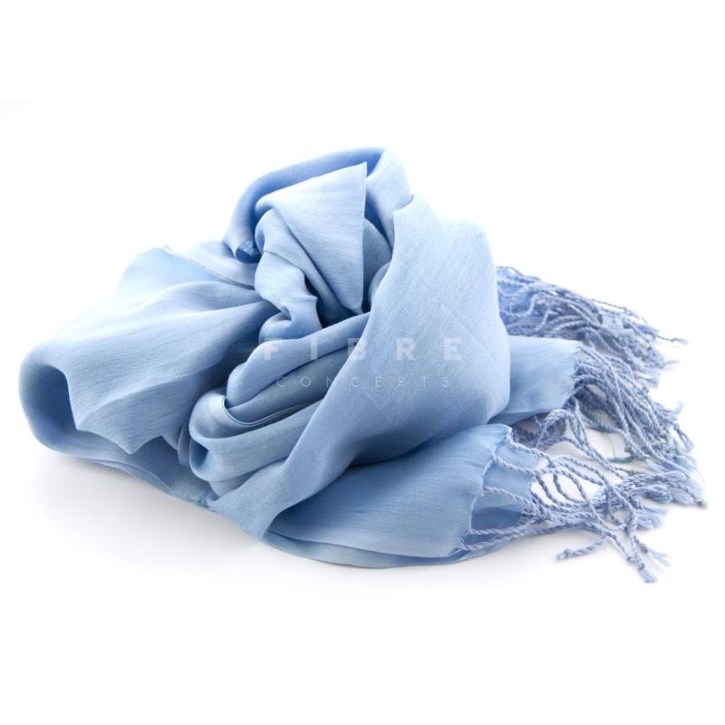 Shawl lichtblauw