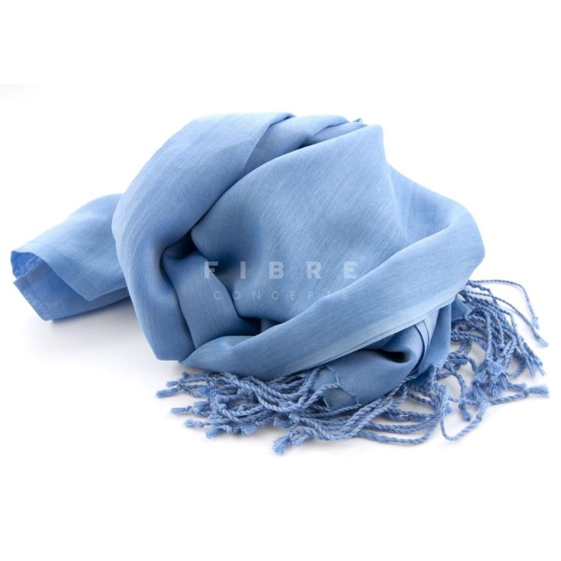 Shawl blauw