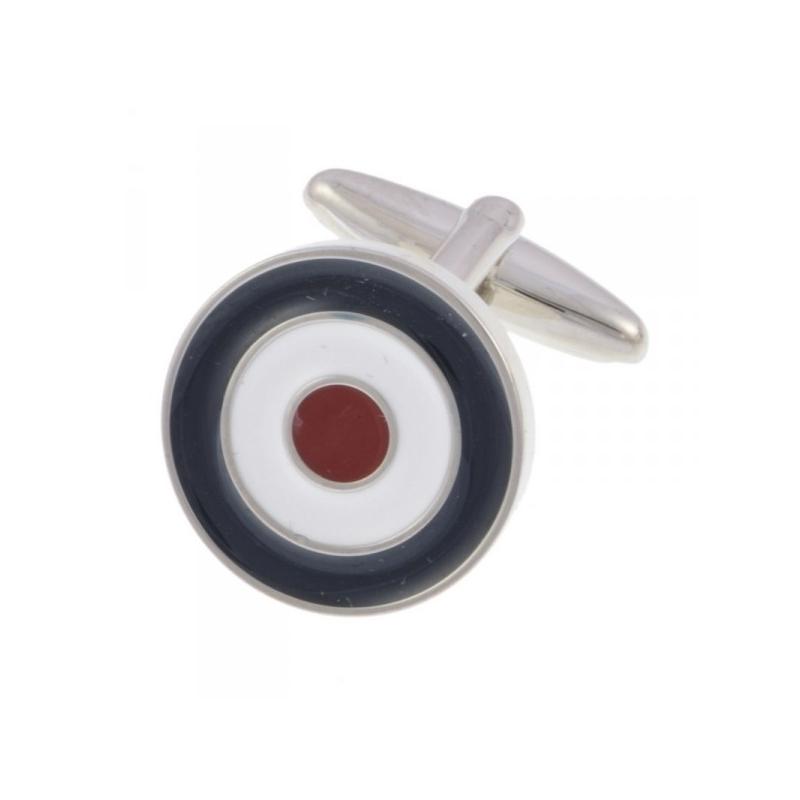 Manchetknoop bullseye