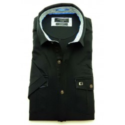 Poloshirt Giordano zwart