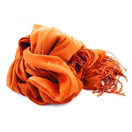 Shawl oranje