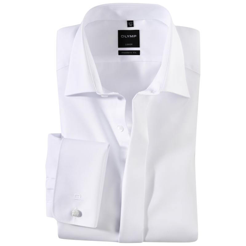 Overhemd Olymp wit luxor modern fit smoking
