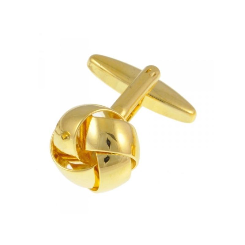 Manchetknoop knoop goudkleurig