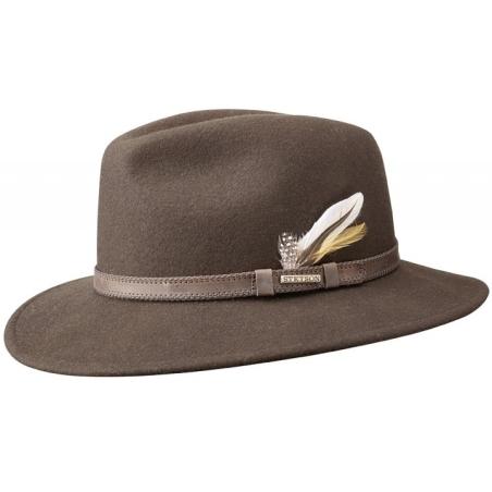 Stetson hoed bruin