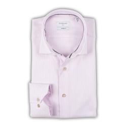 Giordano overhemd streep roze