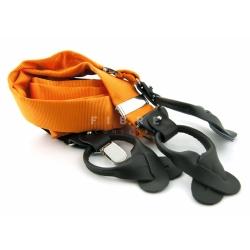 Bretel oranje zijde
