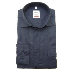 Haupt overhemd blauw