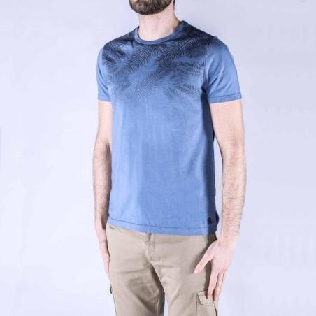 Distretto T-shirt blauw