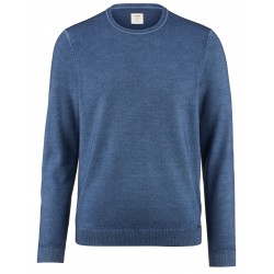OLYMP Level 5 pullover blauw