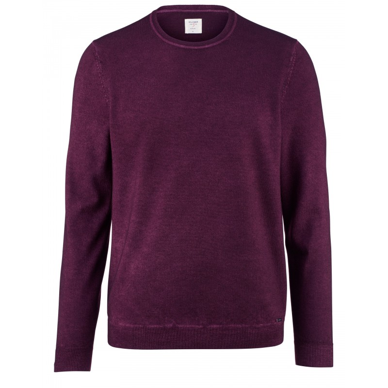 Overhemd Olymp pullover Level 5 chianti