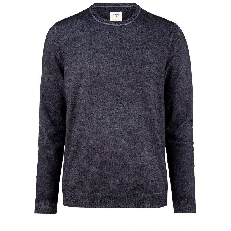 Overhemd Olymp pullover Level 5 anthraciet