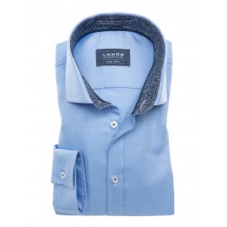 Ledûb Tailored fit blauw ML7