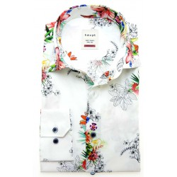 Haupt shirt bloemen